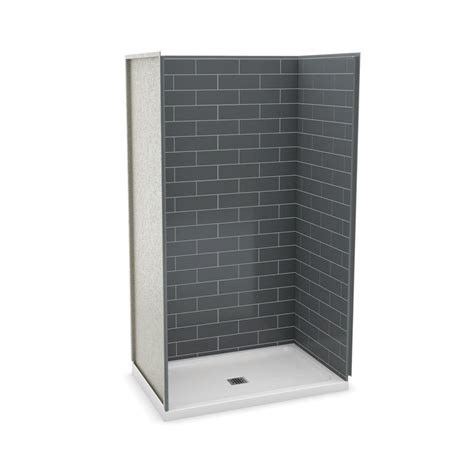 Maax Shower Stalls Installation - maax utile metro 32 in x 48 in x 83 5 in alcove shower