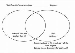 Venn And Carroll Diagram  Sort Odd And Even Number By
