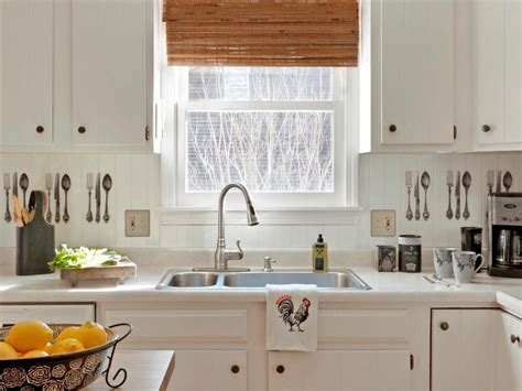 Kitchen Paneling Backsplash by Inexpensive Beadboard Paneling Backsplash How Tos Diy