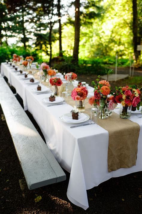 summer table decorations on pinterest banquet table