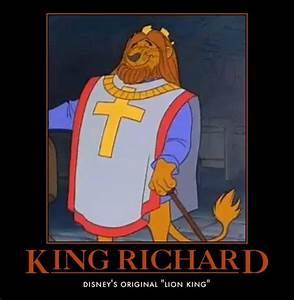*KING RICHARD ~ Robin Hood, 1973 | Disney:Robin Hood ...