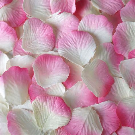 silk rose petals wedding favors wholesale cheap