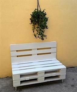 Fabriquer Un Banc D Interieur : 1001 id es pour fabriquer un banc en palette charmant ~ Melissatoandfro.com Idées de Décoration