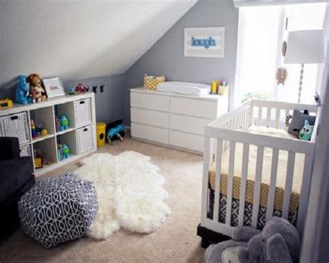 chambre bébé gris blanc bleu decoration chambre bb garon chambre bb garon chambre