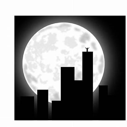 Night Moon Clipart Clip Transparent Vector Clker