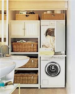 Bathroom design with washer and dryer small laundry for Bathroom ideas with washer and dryer