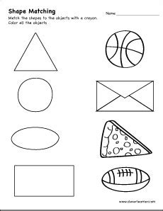 triangle shape activity worksheets  school children
