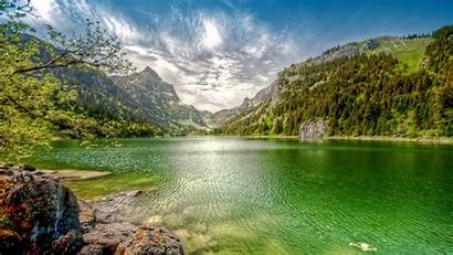 Landscape Switzerland Nature Lake Mountain Forest Water