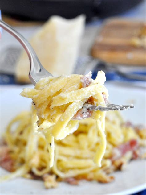 Cytotec Makassar Cooking With Manuela Tagliatelle Pasta With Prosciutto