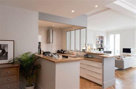cuisine en u ouverte sur salon cuisines semi ouvertes sur le salon ou la salle à manger