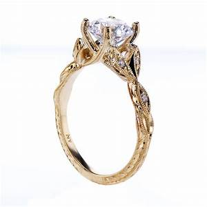 ankora cathedral engagement ring 18k yellow goldsemi With cathedral wedding ring