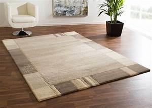 Teppich Handgeknüpft Schurwolle : nepal teppich bagmati 100 schurwolle handgekn pft beige braun grau ~ Markanthonyermac.com Haus und Dekorationen