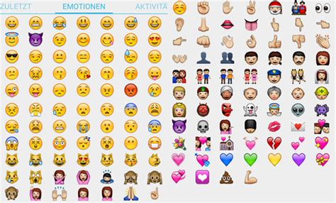 Alle Smileys Der Whatsapp-alternative