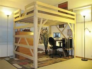 Holz Für Hochbett : hochbett f r erwachsene herausforderung oder praktische einrichtung ~ Markanthonyermac.com Haus und Dekorationen