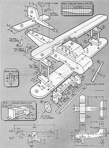 Wooden Biplane Plans • WoodArchivist
