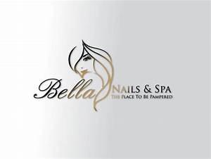 bella nail and spa logo design idea | Logo and Branding ...