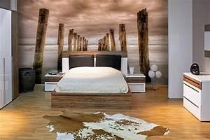 Papier Peint Chambre À Coucher : papier peint chambre izoa ~ Nature-et-papiers.com Idées de Décoration