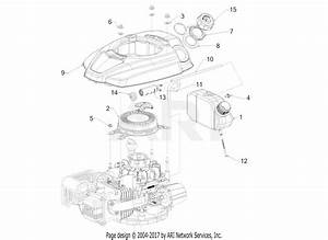 Mtd 5p71ru Engine Parts Diagram For Starter  Fuel Tank