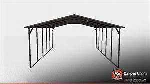 1839 X 2139 X 639 Sturdy Vertical Roof Metal Carport Metal