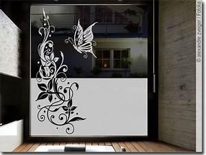Sichtschutzfolien Für Fenster : fensterfolie schmetterling ranke sichtschutzfolie ~ Watch28wear.com Haus und Dekorationen