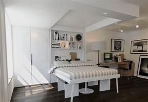 Lit Escamotable Plafond : lit relevable escamotable plafond ~ Premium-room.com Idées de Décoration