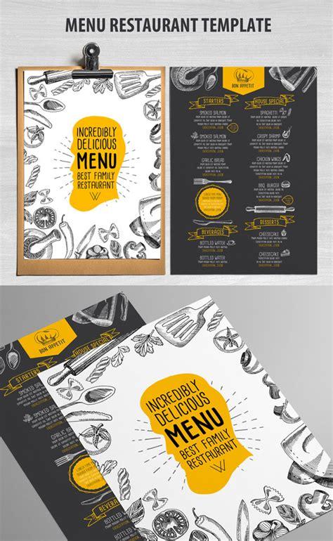 restaurant menu templates  creative designs