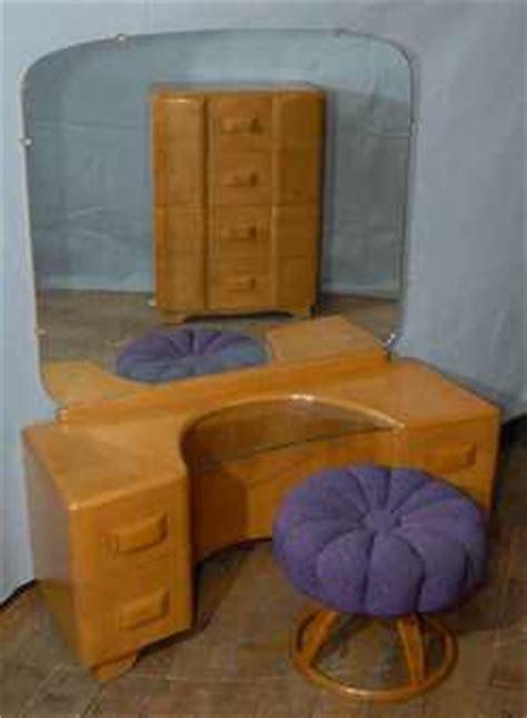 Heywood Wakefield Dressing Table by Furniture Table Dressing Modernist Heywood Wakefield
