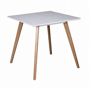 Glastisch 80 X 80 Cm : wohnling retro esstisch scanio 80 x 80 x 75 cm mdf real ~ Bigdaddyawards.com Haus und Dekorationen