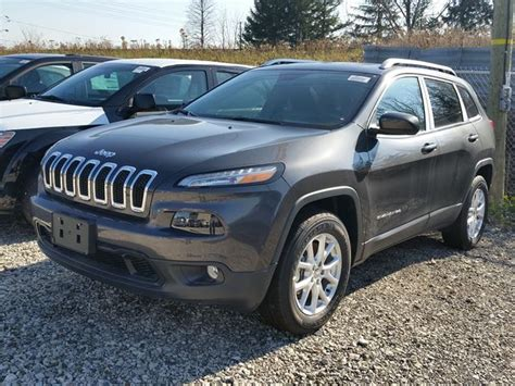jeep cherokee power wheels 2016 jeep cherokee north 4x4 dark grey vaughan chrysler