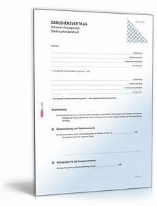 Geld Verleihen Privat : darlehensvertrag verbraucherdarlehen muster zum download ~ Jslefanu.com Haus und Dekorationen