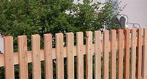 Lattenzaun Selber Bauen : lattenzaun mit schr gkopf und systempfosten aus l rchenholz zaunfabrik natur am kaiserstuhl ~ Sanjose-hotels-ca.com Haus und Dekorationen