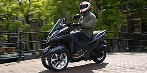 Scooter 3 Roues 125 : yamaha tricity le scooter trois roues au poids plume ~ Medecine-chirurgie-esthetiques.com Avis de Voitures