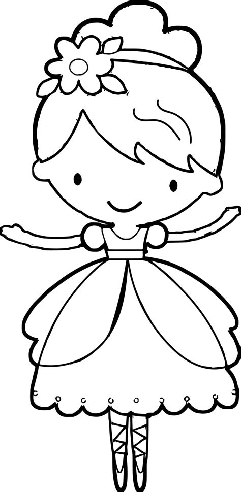 ballerina coloring pages coloringsuitecom