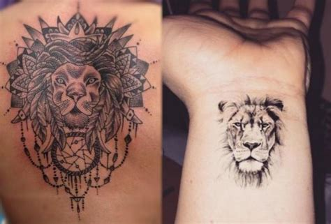 Symbolic Meaning Of A Lion Tattoo