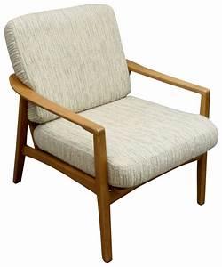 Fauteuil Vintage Scandinave : fauteuil vintage scandinave en teck et tissu 1950 ~ Dode.kayakingforconservation.com Idées de Décoration