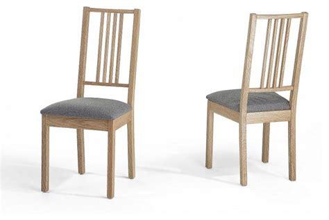 chaise de salle a manger en bois chaise salle a manger bois clair madame ki
