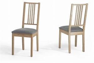 chaise salle a manger bois clair madame ki With chaises de salle a manger en bois
