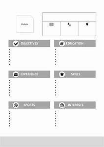my first resume template for kids With my first resume template free