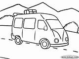 Road Trip Bus Coloring Pages Buses Cars sketch template
