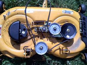 Cub Cadet Lxt 1040 With A 42 Inch Deck I Need The Diagram To Put The Belt Back On
