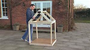 building a dog kennel with ryobi tools youtube With how to make a dog kennel
