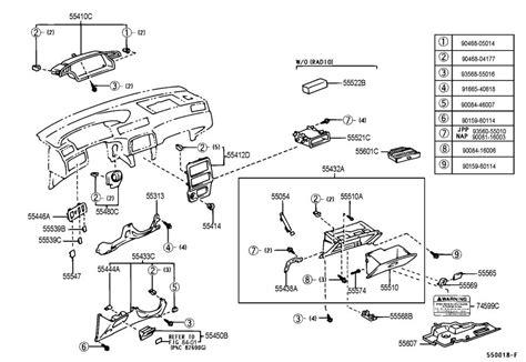 Toyota Solara Camry Clips Qty Interior Dash