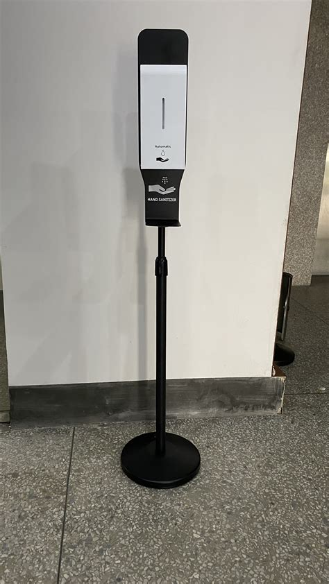 auto hand sanitizing station indoor floor standing hand sanitizing dispenser  ml buy