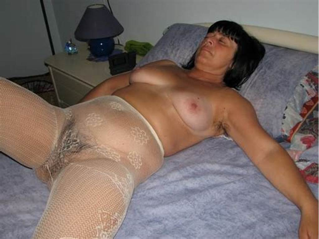 #Mature #Italian #Wife #Poses #Nude #In #Her #Full #Body #Stocking