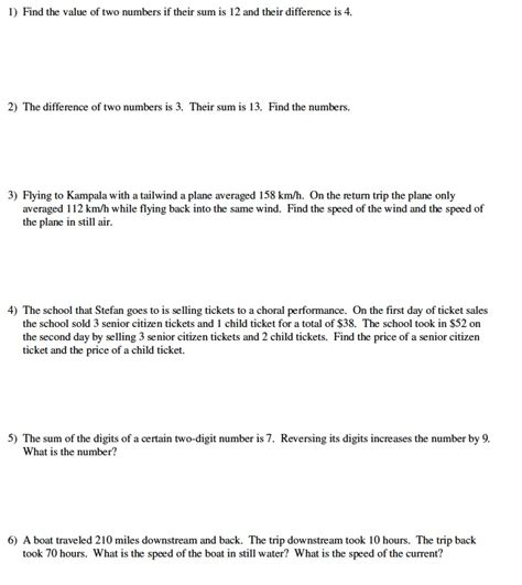 calculating slope word problems worksheet activities to