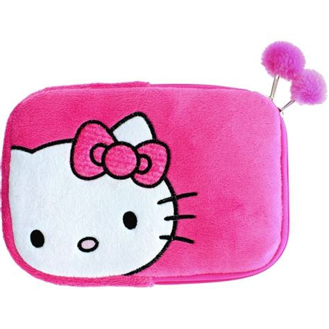 buy hello kitty plush 8 inch tablet case pink at argos