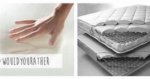 memory foam vs innerspring mattresses hometalk