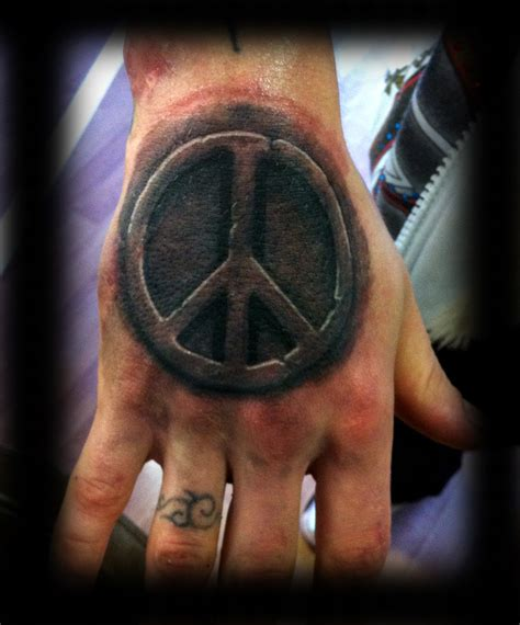 cute peace tattoos