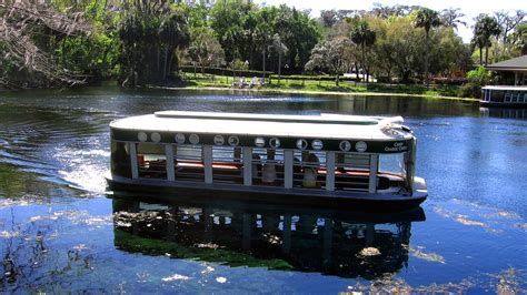 Silver Springs Glass Bottom Boat by Now Endangered Florida S Silver Springs Once Lured