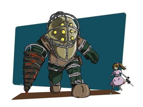 17 Best Images About Bioshock Fan Art On Pinterest
